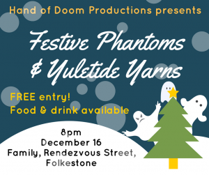 Promotion for Festive Phantoms & Yuletide Yarns