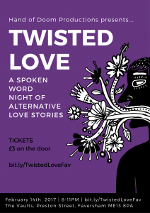 Twisted Love Poster Faversham